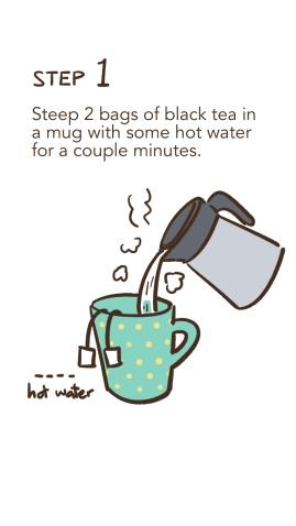 How to Make Milk Tea 2/4